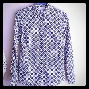 J. Crews women's blouse, perfect fit, cotton